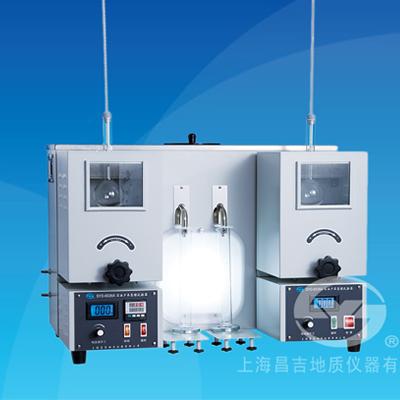 上海昌吉SYD-6536A石油产品蒸馏试验器(双管式)