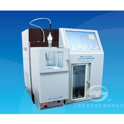 上海昌吉SYD-6536D石油产品自动蒸馏试验器