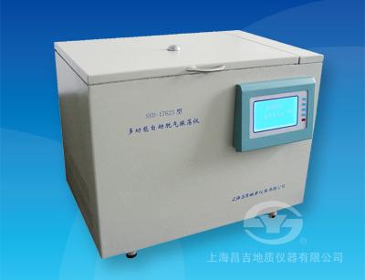 上海昌吉SYD-17623多功能自动脱气振荡仪