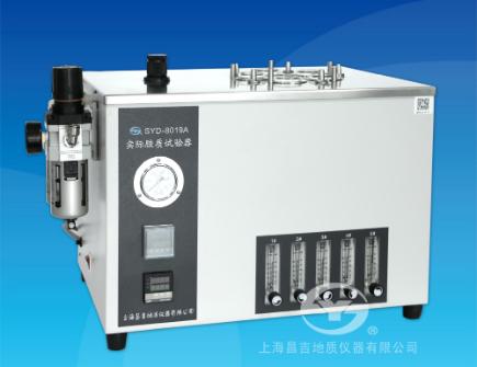 上海昌吉SYD-8019A型实际胶质试验器 (5孔车用汽油型)