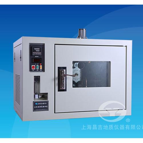 上海昌吉SYD-0610沥青旋转薄膜烘箱