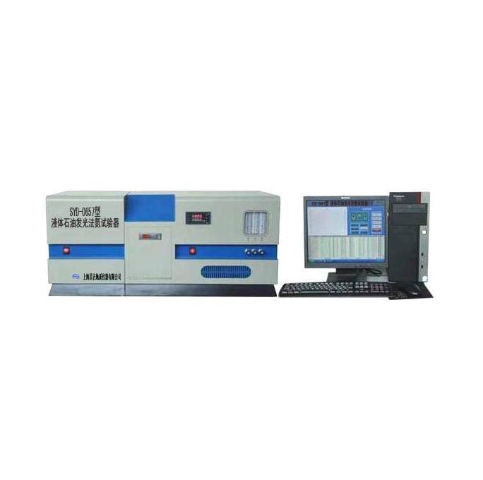 上海昌吉SYD-0657液体石油发光法氮试验器