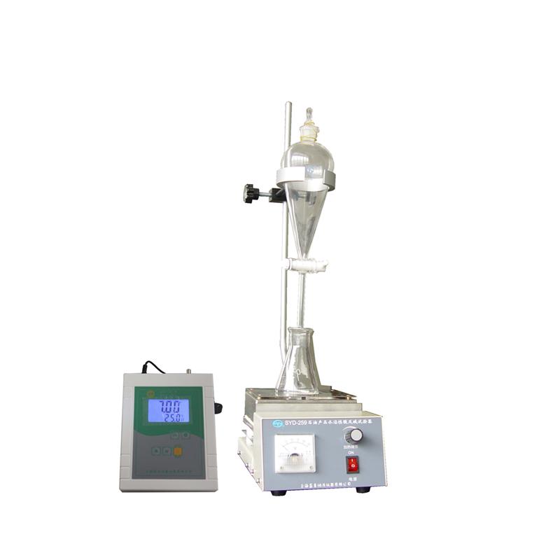 上海昌吉SYD-259石油产品水溶性酸及碱试验器