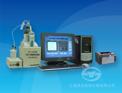 上海昌吉SYD-1792A石油产品硫醇硫试验器(电位滴定法)