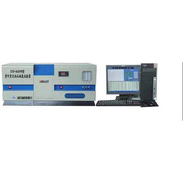 上海昌吉SYD-0689N紫外荧光油品硫氮试验器