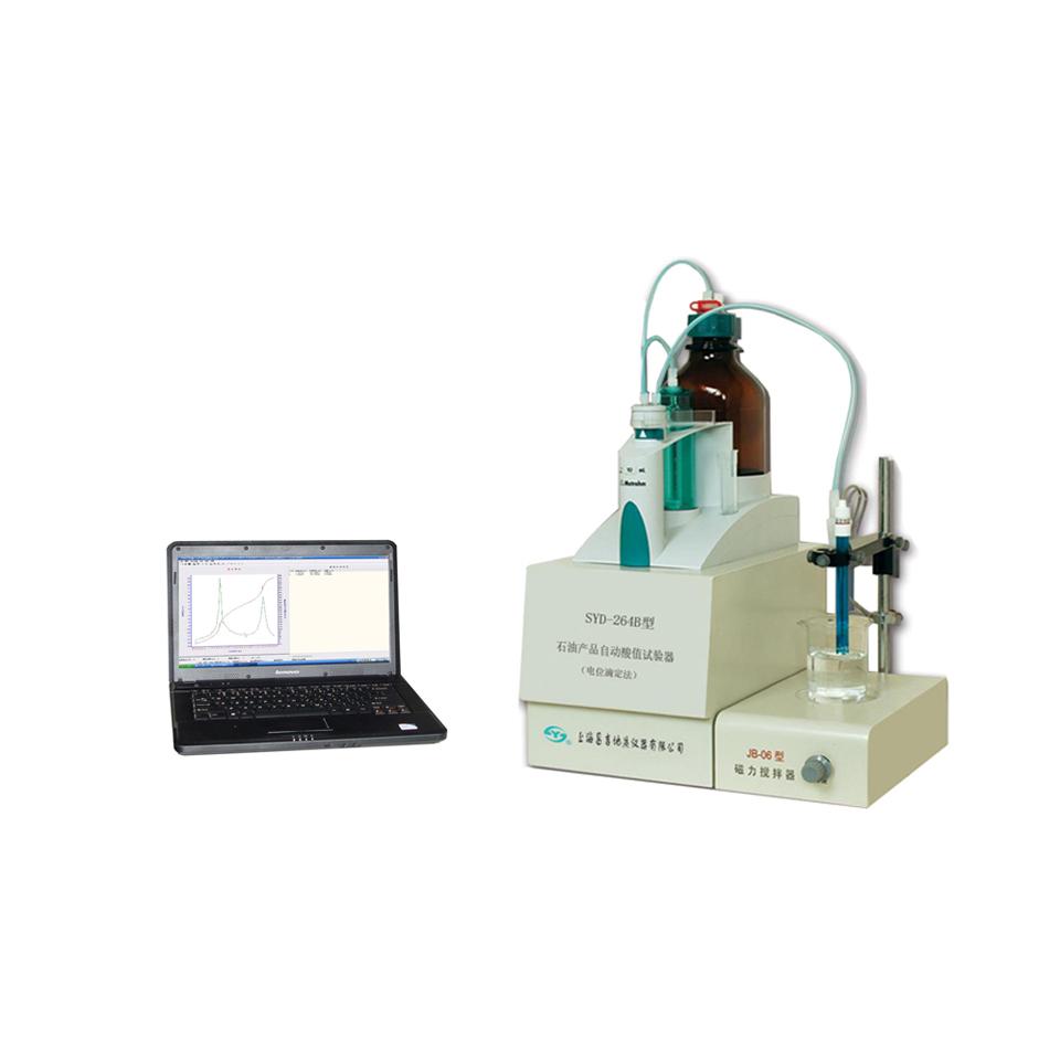 上海昌吉SYD-264B石油产品自动酸值试验器(电位滴定法)