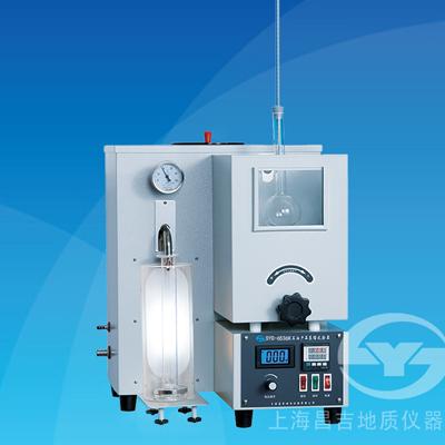 上海昌吉SYD-6536K石油产品蒸馏试验器(水浴控温)