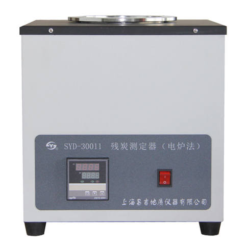 上海昌吉SYD-30011残炭测定器(电炉法)