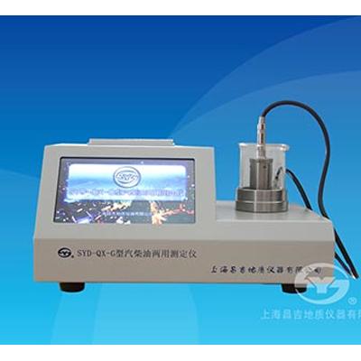 上海昌吉SYD-QX-G汽柴油两用十六烷值(台式)